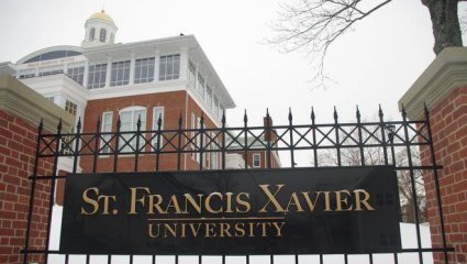 St  Francis Xavier University, Antigonish, Nova Scotia